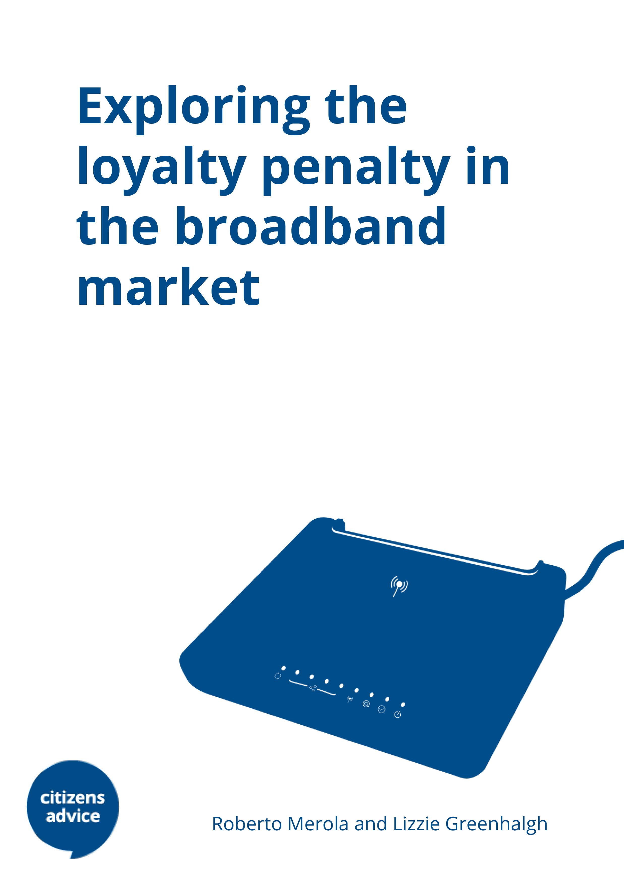 Exploring the loyalty penalty in the broadband market