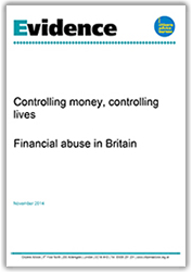 Controlling money, controlling lives cover