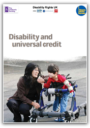 Disability and Universal Credit