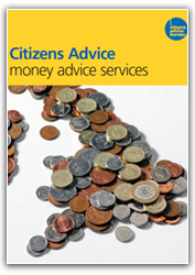 Money advice services cover