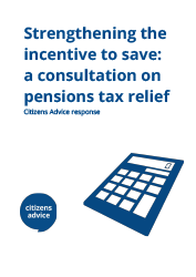 Cover image for Strengthening the incentive to save